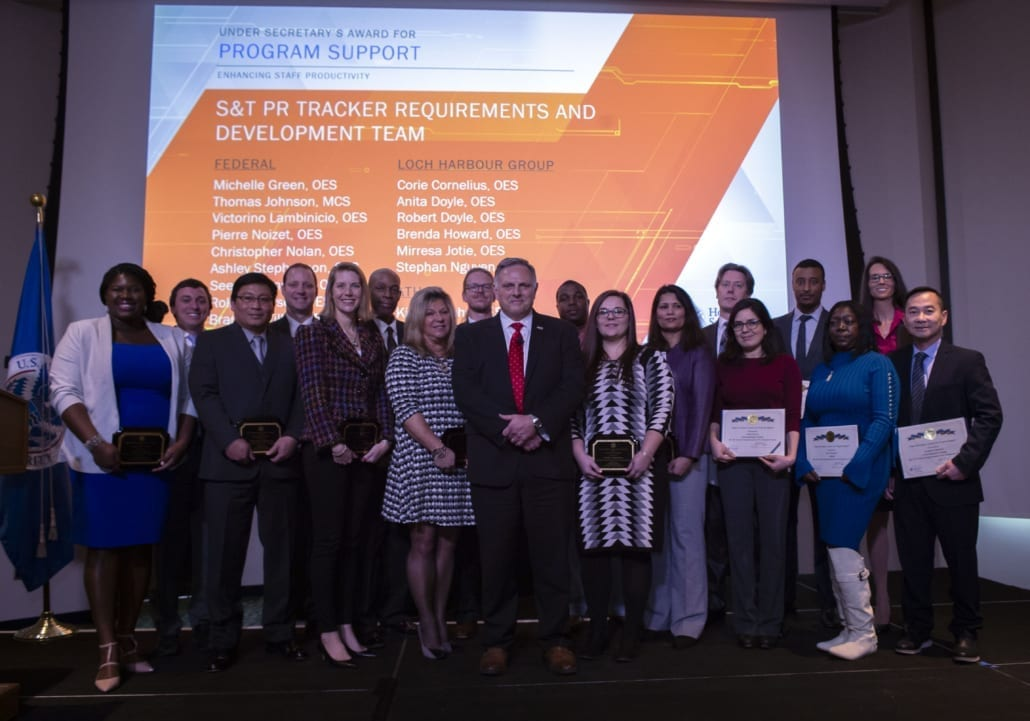 Loch Harbour Group Employees Receive Awards from the DHS S&T Under Secretary